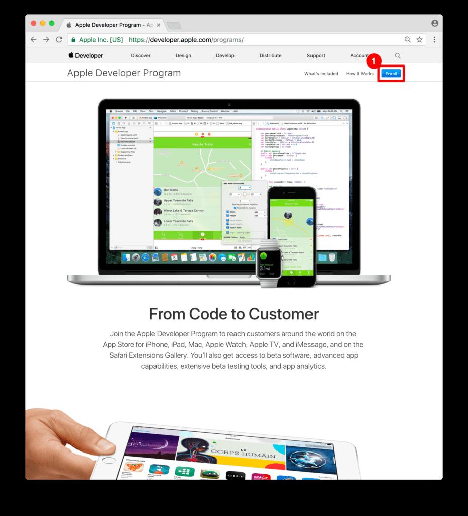 ON AIR Appbuilder - Apple Developer Website