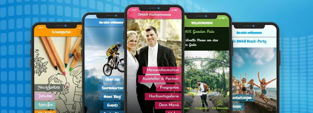 ON AIR Appbuilder - App erstellen: Smartphone freundliche Inhalte