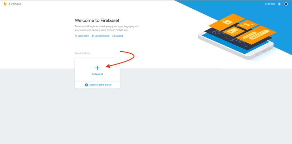 ON AIR Appbuilder - Google-Service JSON Datei - Schritt 1
