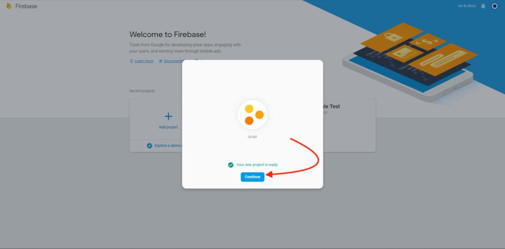 ON AIR Appbuilder - Google-Service JSON Datei - Schritt 3