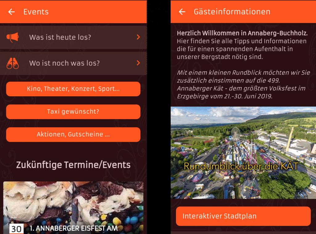 ON AIR Appbuilder - Annaberg-Buchholz, Events & Tourismus App