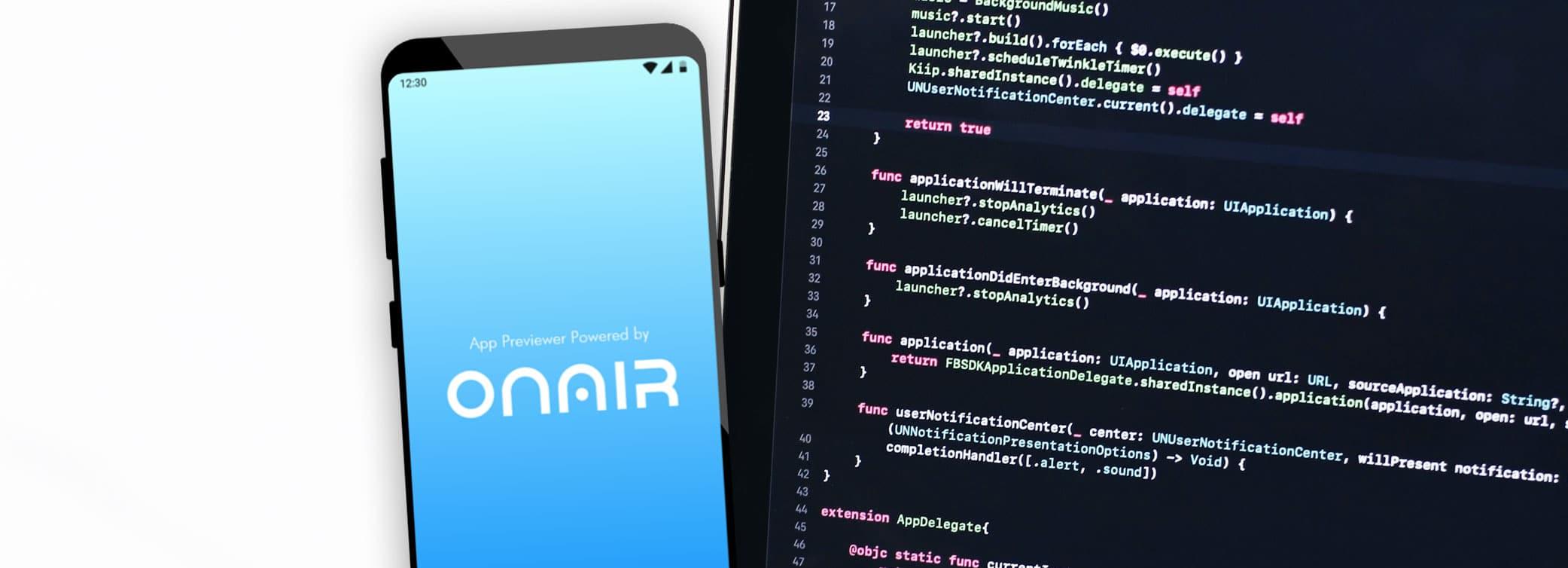 ON AIR Appbuilder - App Programmieren lassen