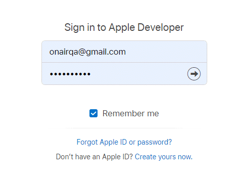 ON AIR Appbuilder - Apple Certificates - Step 2