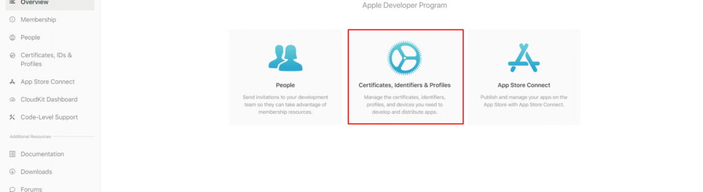 ON AIR Appbuilder - Apple Certificates - Step 3