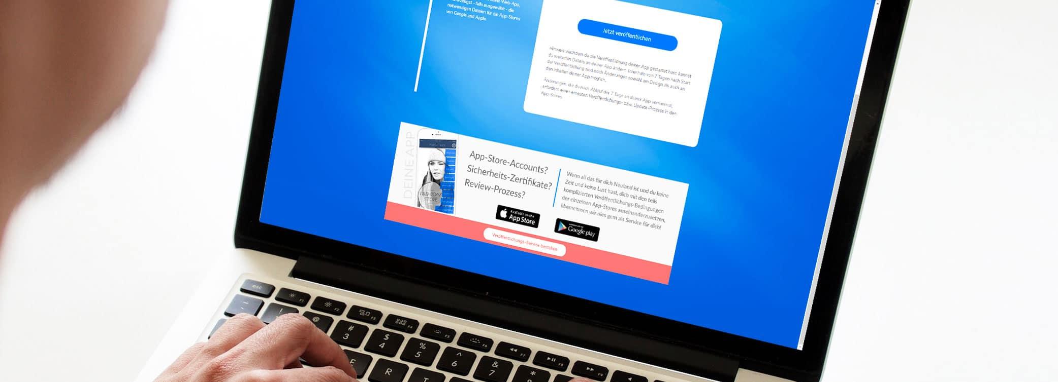 ON AIR Appbuilder - Unser Veröffentlichungsservice