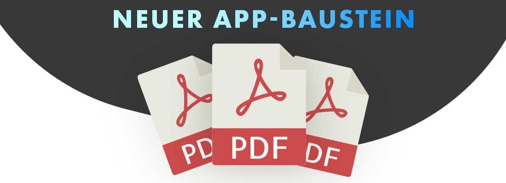 ON AIR Appbuilder - PDF-Upload Modul