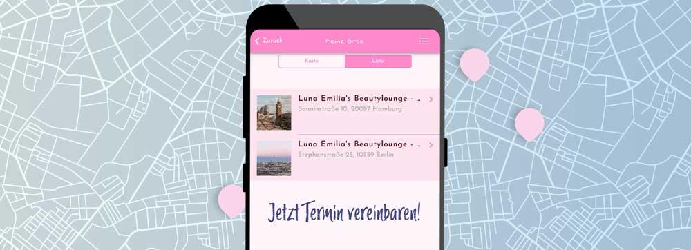 ON AIR Appbuilder - Standorte in App einfügen