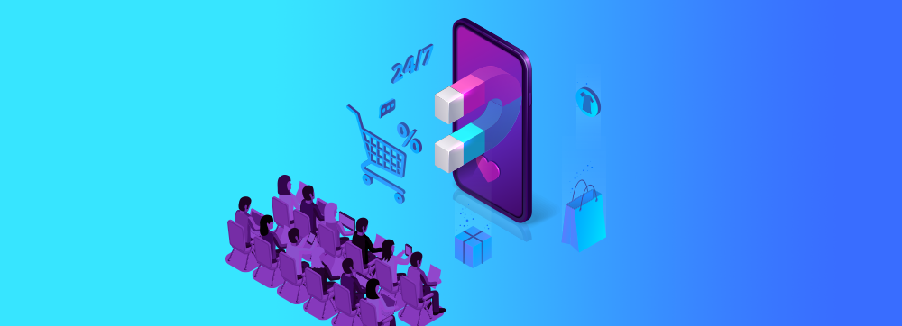 Target Group Distinction via E-commerce